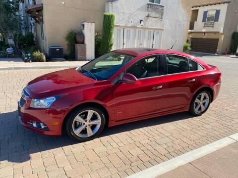 2012 Chevrolet Cruze for sale at California Motor Cars in Covina CA