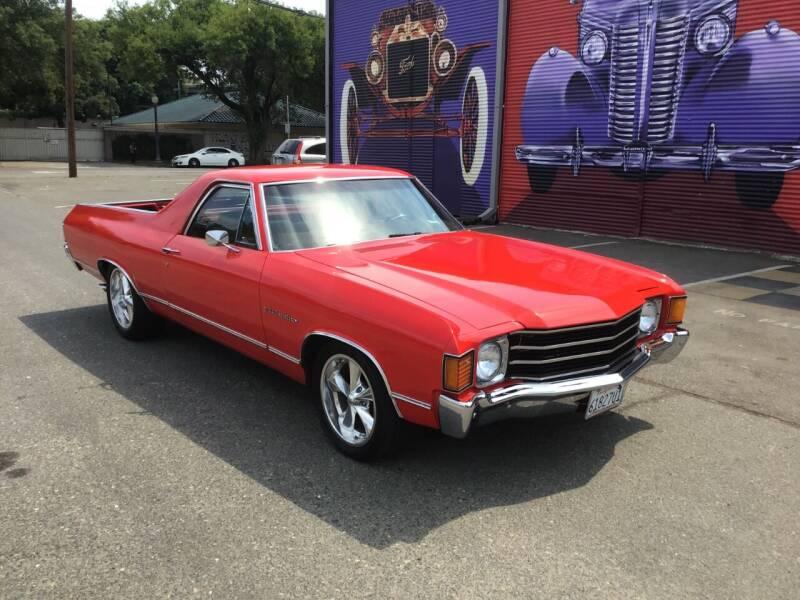 1972 Chevrolet El Camino for sale at California Automobile Museum in Sacramento CA