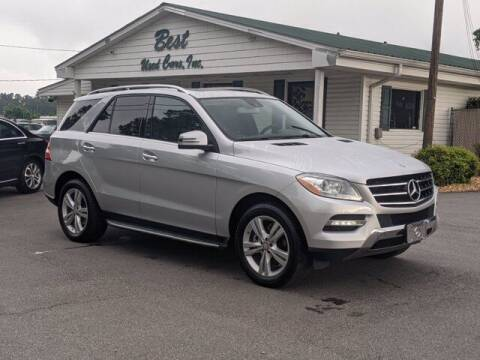 2015 Mercedes-Benz M-Class for sale at Best Used Cars Inc in Mount Olive NC