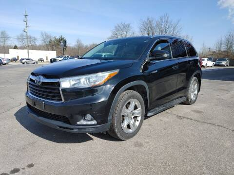 2014 Toyota Highlander Hybrid for sale at Cruisin' Auto Sales in Madison IN