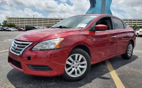 2014 Nissan Sentra for sale at Barbie's Autos Corp in Miami FL