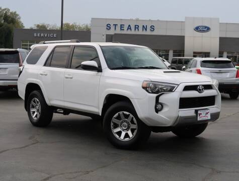 2016 Toyota 4Runner for sale at Stearns Ford in Burlington NC