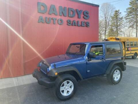 2009 Jeep Wrangler for sale at Dandy's Auto Sales in Forest Lake MN