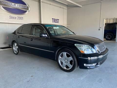 2004 Lexus LS 430 for sale at TANQUE VERDE MOTORS in Tucson AZ
