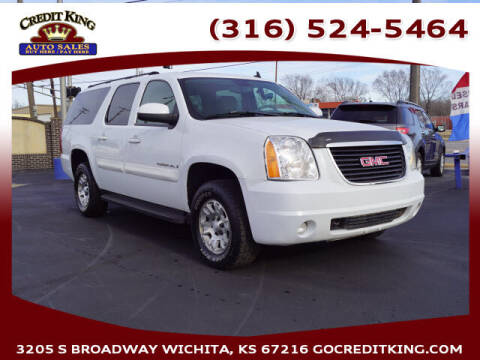 2007 GMC Yukon XL for sale at Credit King Auto Sales in Wichita KS
