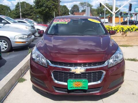 2015 Chevrolet Malibu for sale at JIMS AUTO MART INC in Milwaukee WI