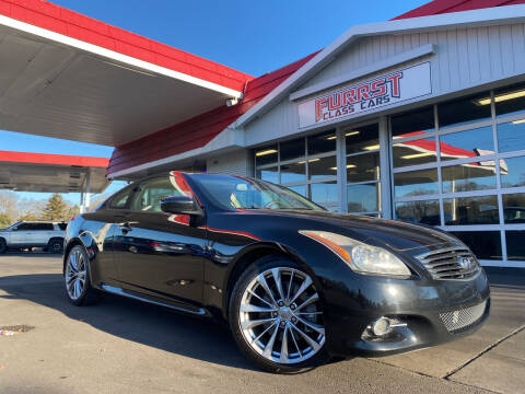 2011 Infiniti G37 Coupe for sale at Furrst Class Cars LLC in Charlotte NC