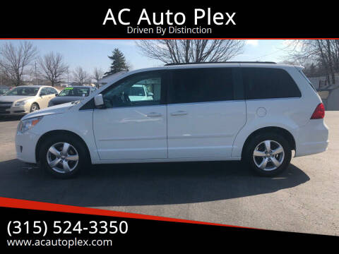 2011 Volkswagen Routan for sale at AC Auto Plex in Ontario NY