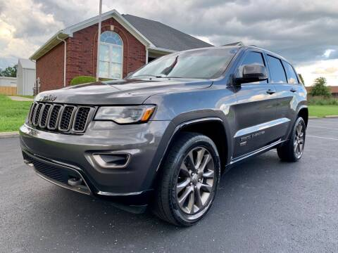 2016 Jeep Grand Cherokee for sale at HillView Motors in Shepherdsville KY