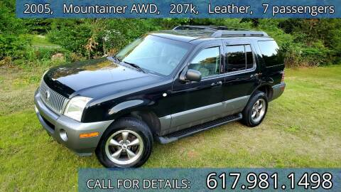 2005 Mercury Mountaineer for sale at Wheeler Dealer Inc. in Acton MA