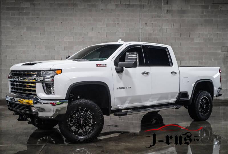 2020 Chevrolet Silverado 3500HD for sale at J-Rus Inc. in Macomb MI