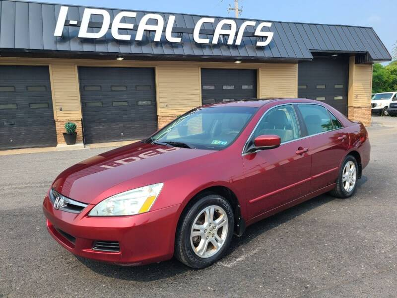 2006 Honda Accord for sale at I-Deal Cars in Harrisburg PA