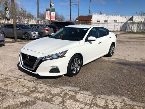 2020 Nissan Altima for sale at Saipan Auto Sales in Houston TX