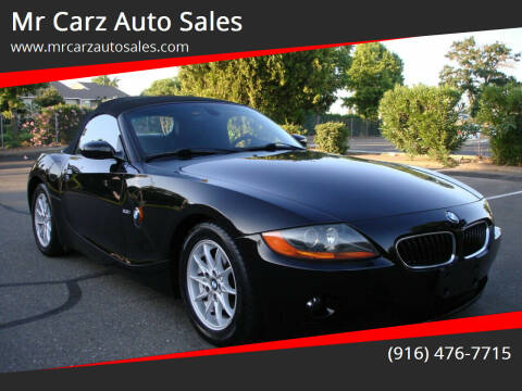 2003 BMW Z4 for sale at Mr Carz Auto Sales in Sacramento CA