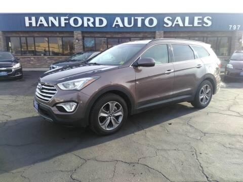 2014 Hyundai Santa Fe for sale at Hanford Auto Sales in Hanford CA