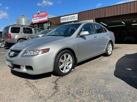 2004 Acura TSX for sale at WINDOM AUTO OUTLET LLC in Windom MN
