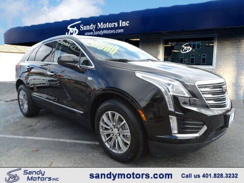 2017 Cadillac XT5 for sale at Sandy Motors Inc in Coventry RI