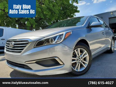 2016 Hyundai Sonata for sale at Italy Blue Auto Sales llc in Miami FL