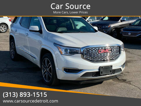2017 GMC Acadia for sale at Car Source in Detroit MI