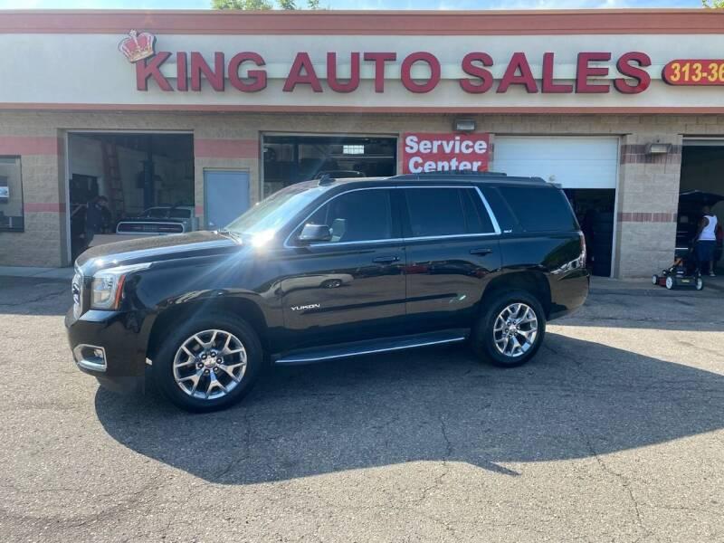 2016 GMC Yukon for sale at KING AUTO SALES  II in Detroit MI