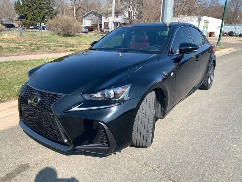 2018 Lexus IS 300 for sale at ONG Auto in Farmington MN