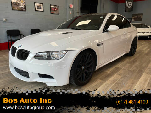 2013 BMW M3 for sale at Bos Auto Inc in Quincy MA