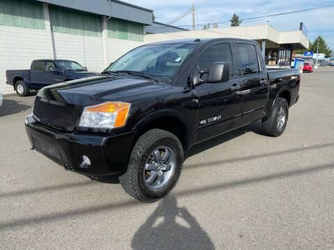 2014 Nissan Titan for sale at Vista Auto Sales in Lakewood WA