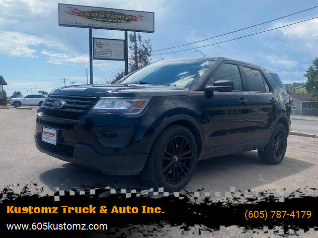 2017 Ford Explorer for sale at Kustomz Truck & Auto Inc. in Rapid City SD