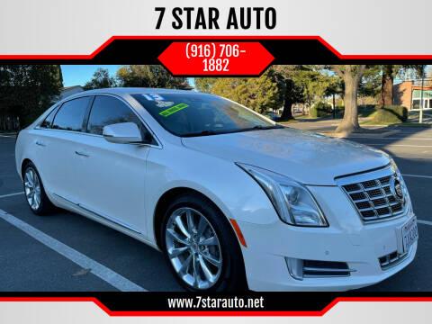 2013 Cadillac XTS for sale at 7 STAR AUTO in Sacramento CA