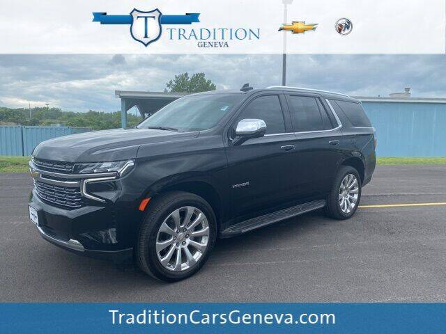 2021 Chevrolet Tahoe for sale at Tradition Chevrolet Buick in Geneva NY
