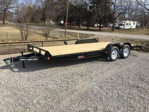 "2021 GRTrailers 82""x20' 7k Car Hauler for sale at Bailey Auto in Pomona KS"