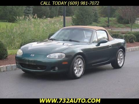 2001 Mazda MX-5 Miata for sale at Absolute Auto Solutions in Hamilton NJ