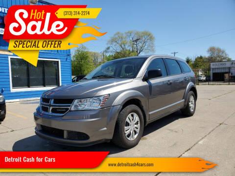2012 Dodge Journey for sale at Detroit Cash for Cars in Warren MI