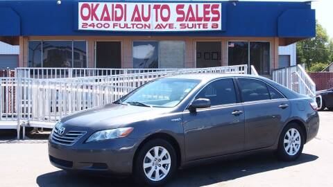 2007 Toyota Camry Hybrid for sale at Okaidi Auto Sales in Sacramento CA