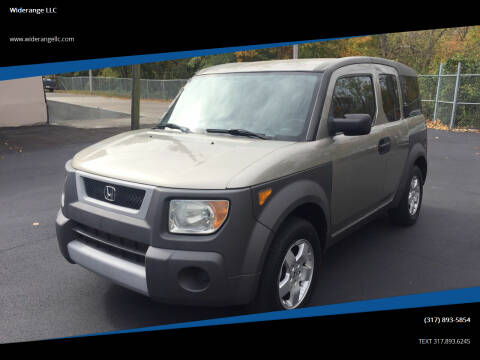 2004 Honda Element for sale at Widerange LLC in Greenwood IN