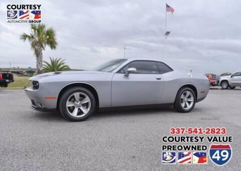 2018 Dodge Challenger for sale at Courtesy Value Pre-Owned I-49 in Lafayette LA