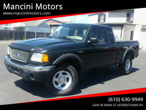 2001 Ford Ranger for sale at Mancini Motors in Norristown PA