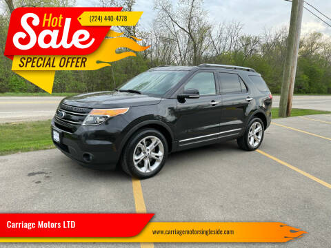 2015 Ford Explorer for sale at Carriage Motors LTD in Ingleside IL