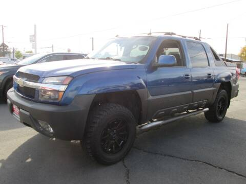 2003 Chevrolet Avalanche for sale at Top Notch Motors in Yakima WA