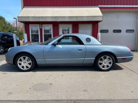 2005 Ford Thunderbird for sale at JWP Auto Sales,LLC in Maple Shade NJ