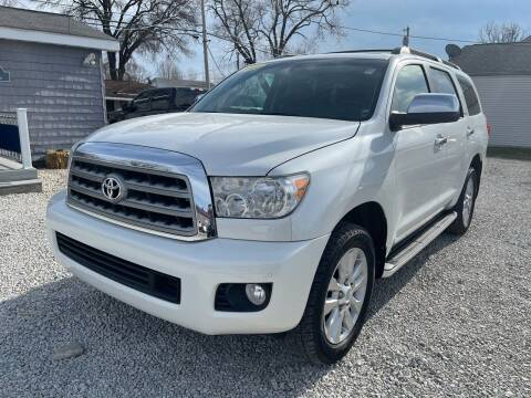 2012 Toyota Sequoia for sale at Davidson Auto Deals in Syracuse IN
