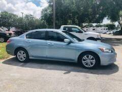 2011 Honda Accord for sale at DAN'S DEALS ON WHEELS in Davie FL