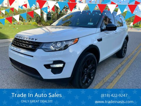 2016 Land Rover Discovery Sport for sale at Trade In Auto Sales in Van Nuys CA