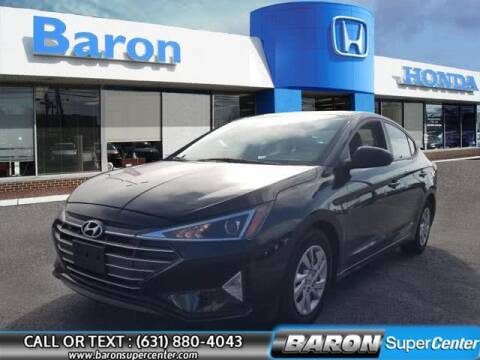 2019 Hyundai Elantra for sale at Baron Super Center in Patchogue NY