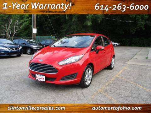 2015 Ford Fiesta for sale at Clintonville Car Sales - AutoMart of Ohio in Columbus OH