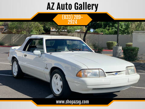 1993 Ford Mustang for sale at AZ Auto Gallery in Mesa AZ