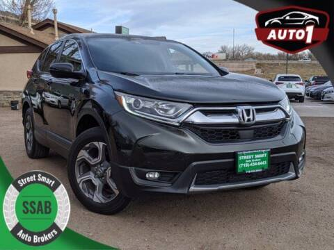 2017 Honda CR-V for sale at Street Smart Auto Brokers in Colorado Springs CO