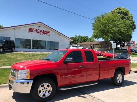 2013 Chevrolet Silverado 1500 for sale at Efkamp Auto Sales LLC in Des Moines IA