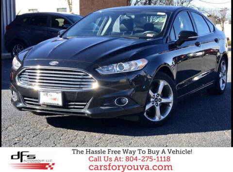 2013 Ford Fusion for sale at DFS Auto Group of Richmond in Richmond VA