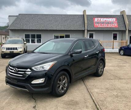 2013 Hyundai Santa Fe Sport for sale at Stephen Motor Sales LLC in Caldwell OH